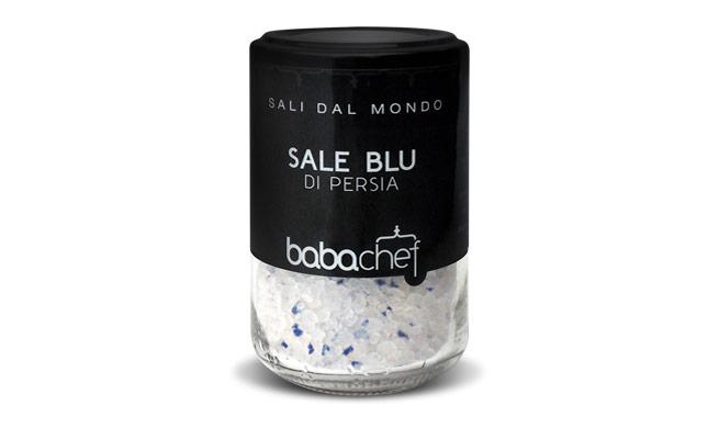 Sale Blu Di Persia : Mousse al cioccolato con sale blu di persia baba chef